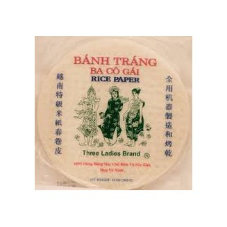 3 Ladies Rice Paper 22 cm