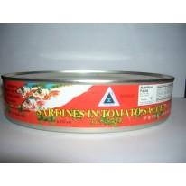 Battleship Canned Sardines in Tomato Sauce