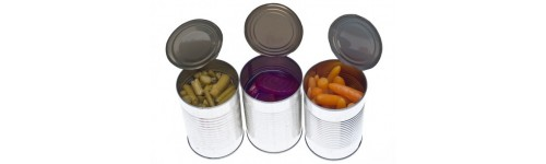Canned Fruits & Veggies